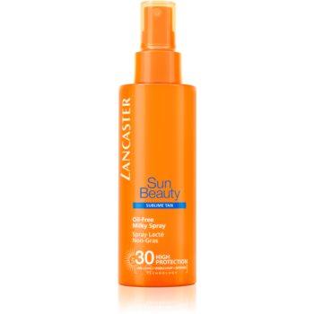 Lancaster Sun Beauty Oil-Free Milky Spray nemastné mléko na opalování ve spreji SPF 30 150 ml