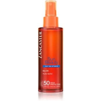 Lancaster Sun Beauty Spray de ulei uscat de bronzat SPF 50