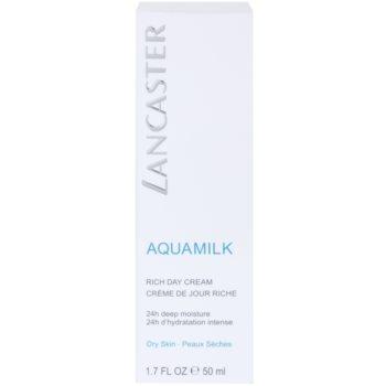 Lancaster Aquamilk creme hidratante para pele seca a muito seca 3