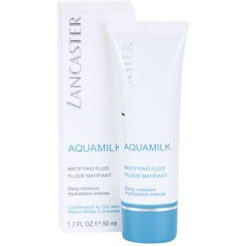 Lancaster Aquamilk matující fluid pro smíšenou a mastnou pleť 1
