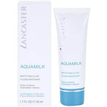 Lancaster Aquamilk matující fluid pro smíšenou a mastnou pleť 2