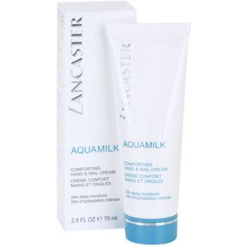 Lancaster Aquamilk creme nutritivo para mãos e unhas 2
