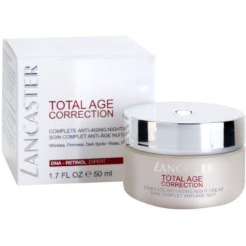Lancaster Total Age Correction Nachtcreme gegen Hautalterung 1