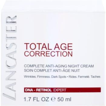 Lancaster Total Age Correction Nachtcreme gegen Hautalterung 4