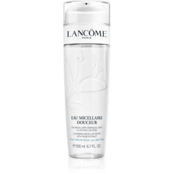 Lancôme Eau Micellaire Douceur apa pentru curatare cu particule micele cu aromă de trandafiri