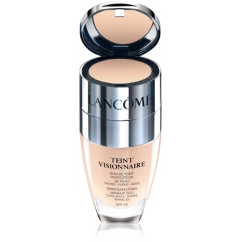 Fotografie Lancome Zdokonalující duo make-up Teint Visionnaire SPF 20 (Skin Perfecting Makeup Duo) 30 ml + 2,8