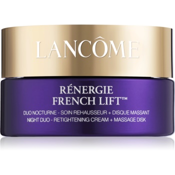 Lancôme Rénergie French Lift™ crema de noapte cu disc pentru masaj