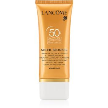 Lancôme Soleil Bronzer Crema anti-imbatranire pentru protectie solara SPF 50  50 ml