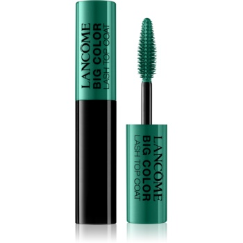 Lancôme Big Color Lash Top Coat  culoare 02 Fresh Green 2,8 ml