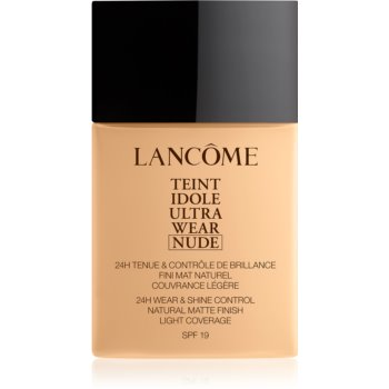 Lancôme Teint Idole Ultra Wear Nude make-up usor matifiant poza noua