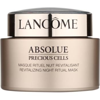 Lancôme Absolue Precious Cells mască de noapte pentru revitalizarea și reînnoirea pielii