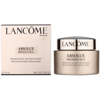 Lancome Absolue Precious Cells нощна ревитализираща маска за възстановяване на кожата на лицето 1