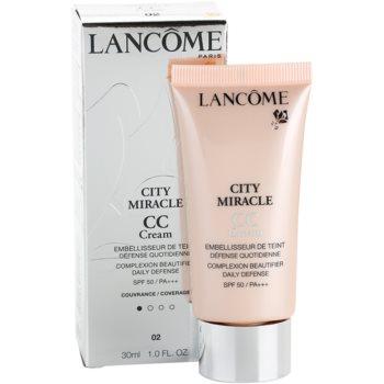 Lancome City Miracle crema CC SPF 50 1