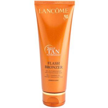 Lancome Flash Bronzer gel autobronzeador para pernas