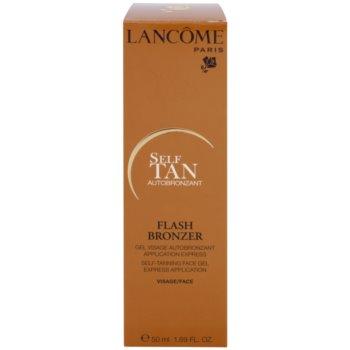 Lancome Flash Bronzer гель для автозасмаги для обличчя 3