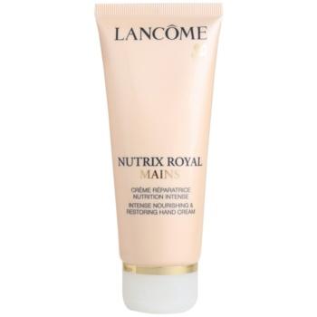 Fotografie Lancôme Nutrix Royal regenerační a hydratační krém na ruce 100 ml