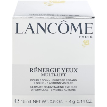 Lancome Renergie Multi-Lift Creme para olhos antirrugas nutritivo com corretor 3