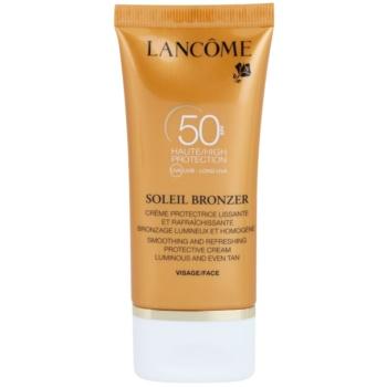 Lancôme Soleil Bronzer Crema anti-imbatranire pentru protectie solara SPF 50