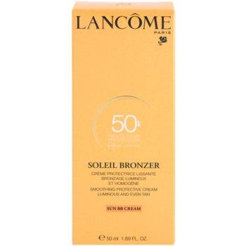 Lancome Soleil Bronzer creme solar facial SPF 50 3