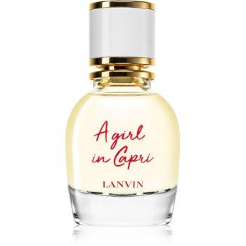 Lanvin A Girl In Capri Eau de Toilette pentru femei