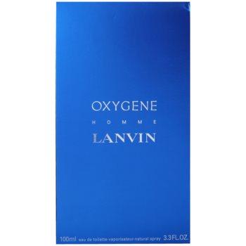 Lanvin Oxygene Homme Eau de Toilette pentru barbati 4