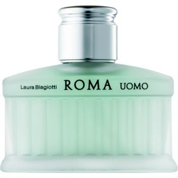poze cu Laura Biagiotti Roma Uomo Cedro eau de toilette pentru barbati 40 ml