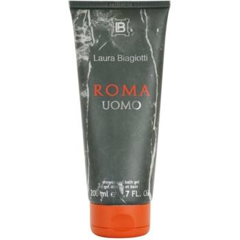 Fotografie Laura Biagiotti Roma Uomo sprchový gel pro muže 200 ml