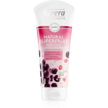 Lavera Natural Superfruit gel de dus delicat imagine produs
