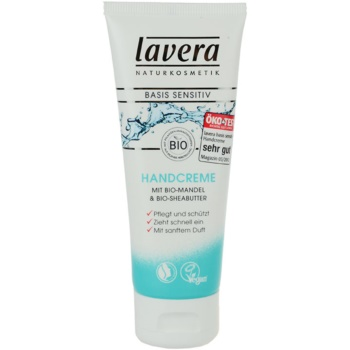 Lavera Basis Sensitiv crema de maini imagine produs