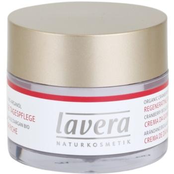 Lavera Faces Bio Cranberry and Argan Oil crema de zi regeneratoare 45+