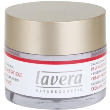 Lavera Faces Bio Cranberry and Argan Oil crema de zi regeneratoare 45+ imagine produs