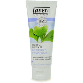 Fotografie Lavera Faces Cleansing čisticí gel pro smíšenou a mastnou pleť 100 ml