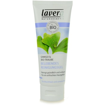 Lavera Faces Cleansing gel de curatare pentru ten mixt si gras