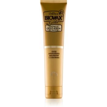 L'biotica Biovax Gold ulei crema pentru un aspect perfect al parului
