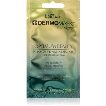 L'biotica DermoMask Anti-Aging masca facială cu efect anti-rid 35+ imagine