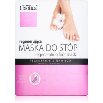 L'biotica Masks masca regeneratoare pentru picioare sub formă de șosete