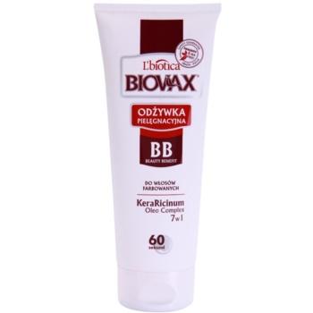 Liotica Biovax Colored Hair balsam protector pentru par vopsit