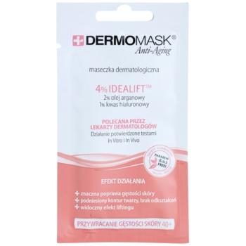 L'biotica DermoMask Anti-Aging Masca pentru a restabili densitatii pielii 40+