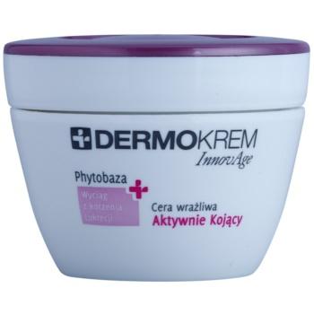 L'biotica DermoKrem InnovAge die beruhigende Creme für empfindliche Haut mit der Neigung zum Erröten