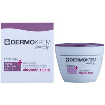 L'biotica DermoKrem InnovAge die beruhigende Creme für empfindliche Haut mit der Neigung zum Erröten 1