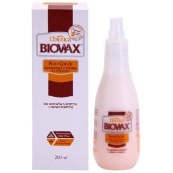 L'biotica Biovax Dry Hair двофазний зволожуючий крем для сухого або пошкодженого волосся 1