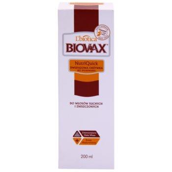 L'biotica Biovax Dry Hair двофазний зволожуючий крем для сухого або пошкодженого волосся 2