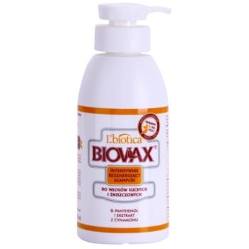 Fotografie L'biotica Biovax Dry Hair regenerační šampon pro suché a poškozené vlasy 400 ml