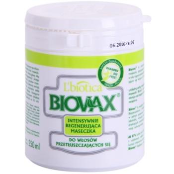 L'biotica Biovax Dull Hair maseczka regenerująca do przetłuszczających się włosów i skóry głowy