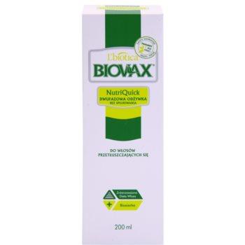L'biotica Biovax Dull Hair spray hidratante bifásico para cabelo oleoso 2