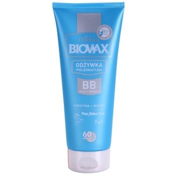 L'biotica Biovax Keratin & Silk кондиціонер з кератином для легкого розчісування волосся