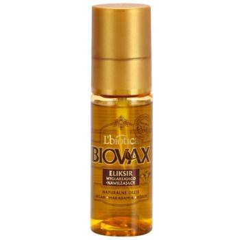 Liotica Biovax Natural Oil ser hidratant si hranitor pentru un par stralucitor si catifelat