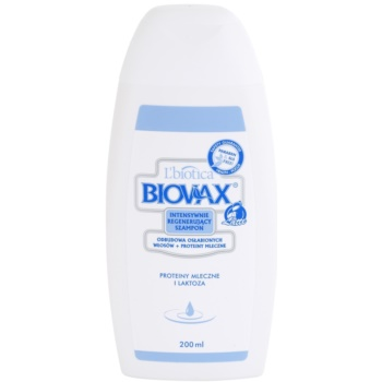 Liotica Biovax Weak Hair sampon hranitor pentru par deteriorat