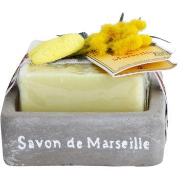 Le Chatelard 1802 Milk Vigne luxusné francúzske mydlo s mydlovničkou