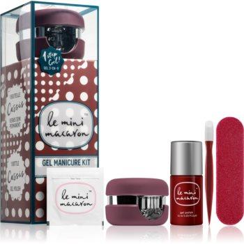 Le Mini Macaron Gel Manicure Kit Cassis set de cosmetice V. (pentru unghii) pentru femei imagine produs